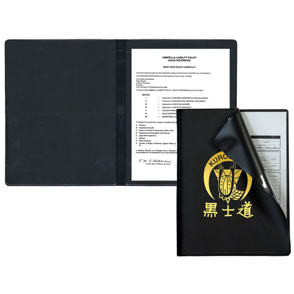 Flexible Cover Presentation Folder