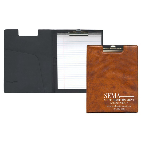 Senior Size Clipboard - Executive Vinyl Colors