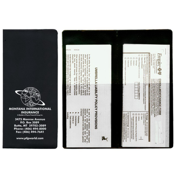 Policy and Document Holders - 2 Half Pockets