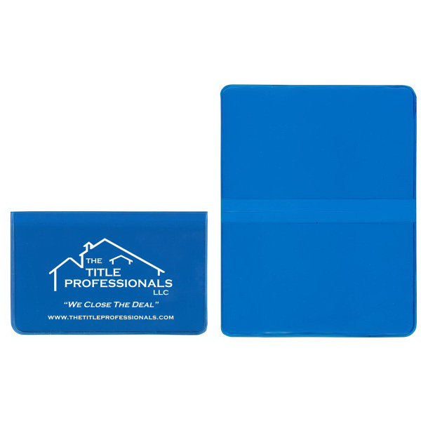 Foldover Card Case in Ultra Vibrant TEK Translucent Vinyl