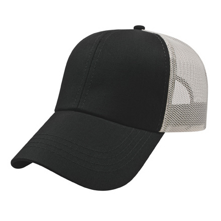 Two-Tone Mesh Back Cap