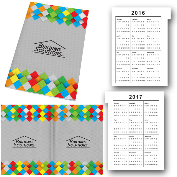 5 x 7 Perfect Paper Cover Notebook with Calendar