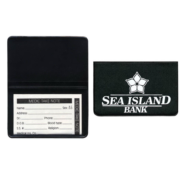 Foldover Card Case with Insert Card