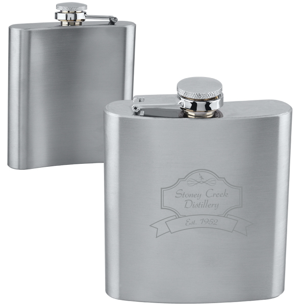 Stainless Steel Flask (6 oz)