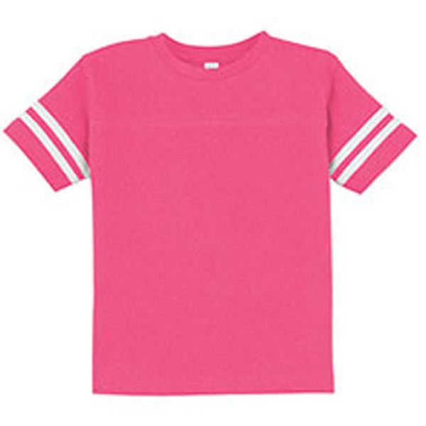 Rabbit Skins - Toddler Fine Jersey Football Tee