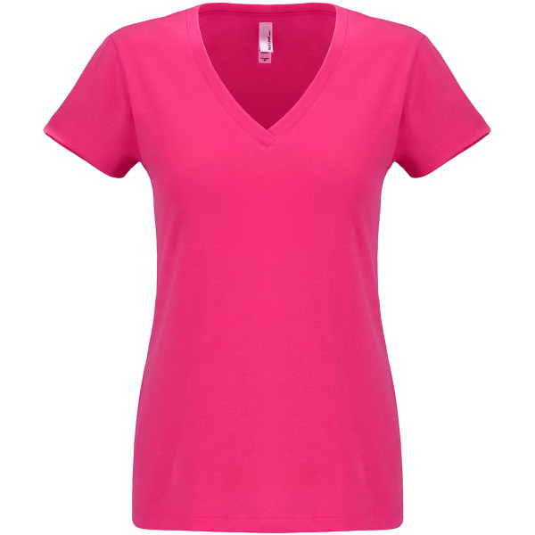 Next Level Ladies' Sueded V Neck Tee