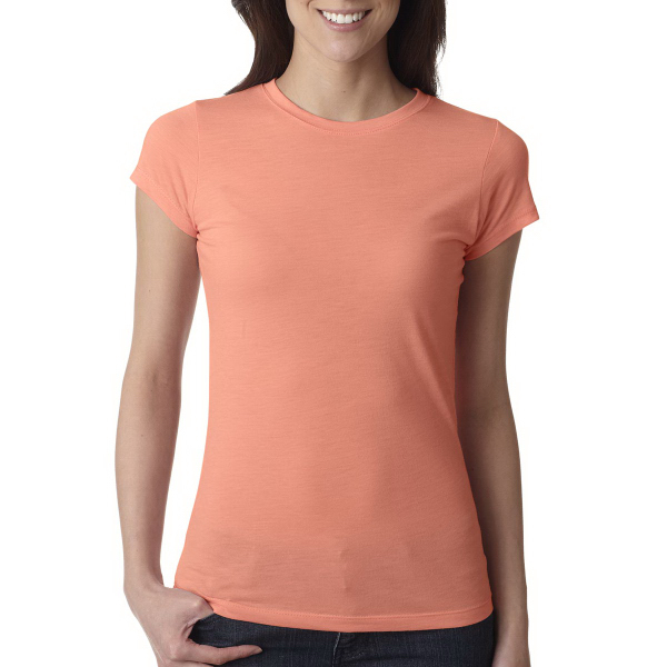 Next Level Ladies' Poly Cotton Short Sleeve Tee