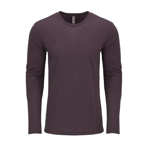Next Level Men's Tri Blend Long Sleeve Crew Tee