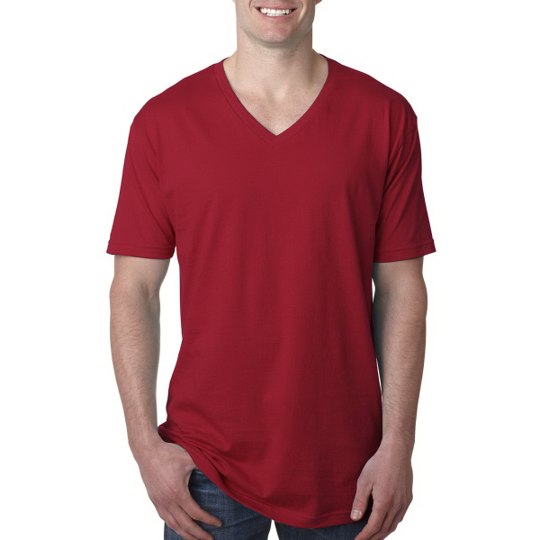 Next Level Men's Premium Fitted Short Sleeve V Neck Tee