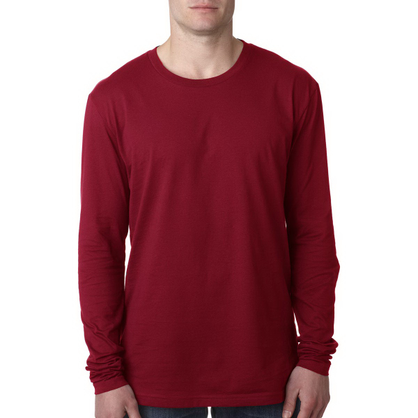 Next Level Men's Premium Fitted Long Sleeve Crew Tee