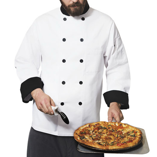 Dickies Chef Wear Classic Ten Button Chef Coat