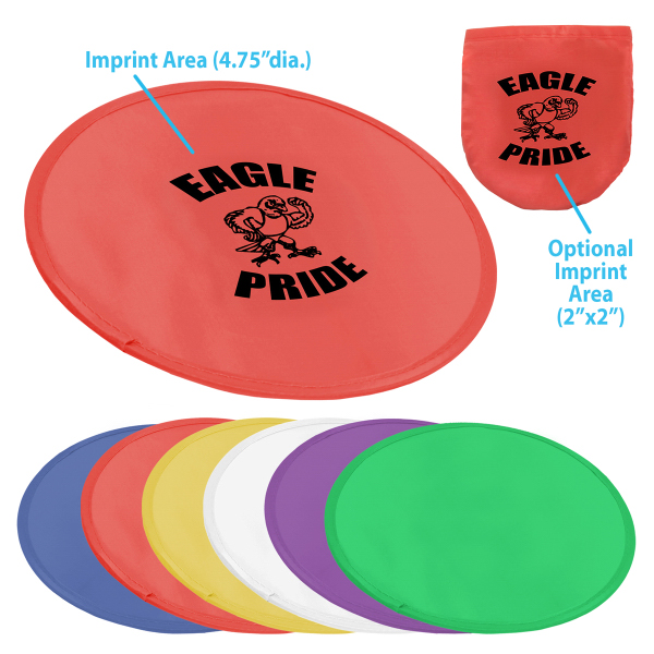 """9.75"""" Pop-up Flying Disc w/Pouch"""