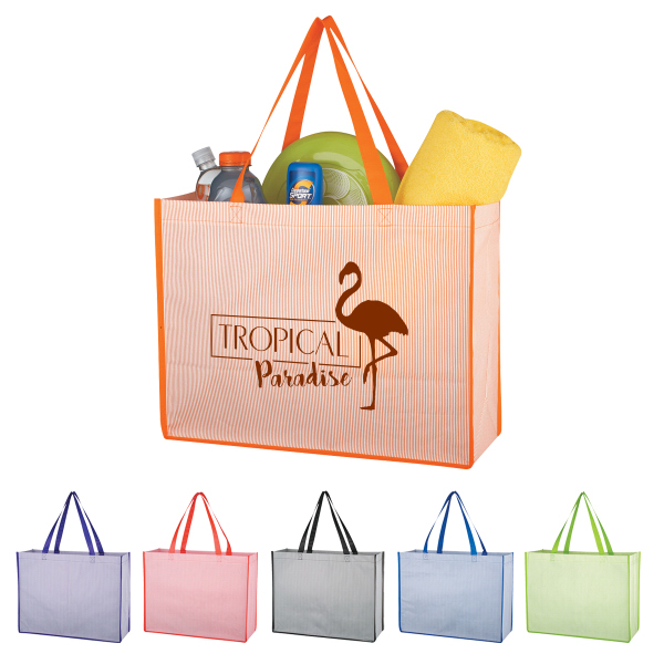 Matte Laminated Bahama Tote Bag