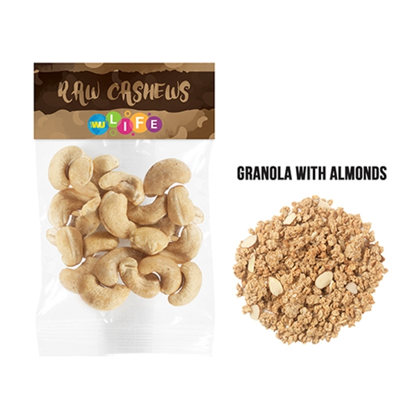 Granola w/ Almonds in Header Bag (1 Oz.)
