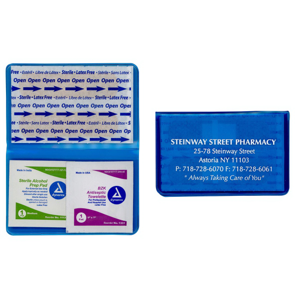 Pocket First Aid Kit - Vibrant TEK Translucent Colors