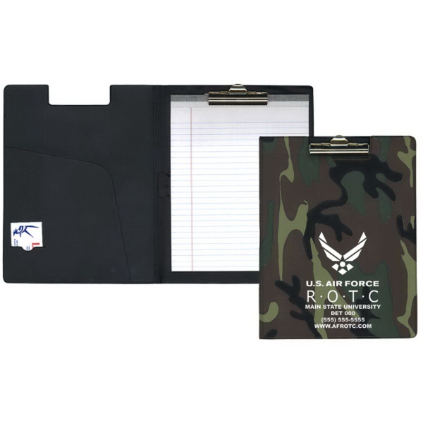 Deluxe Camouflage Clipboards