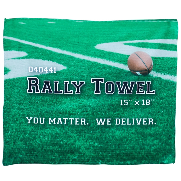 "Microfiber Rally Towel 15"" x 18"""
