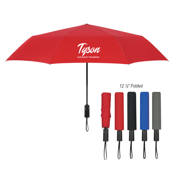 "46"" Arc Automatic Open And Close Folding Umbrella"