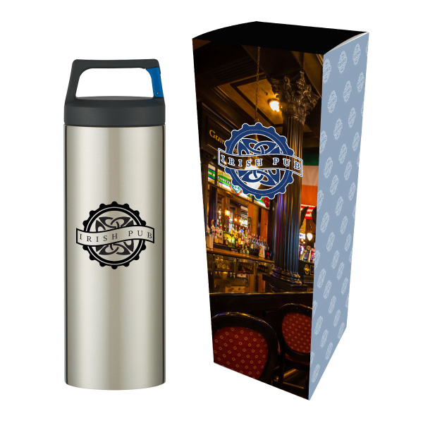 18 Oz. Rover Stainless Bottle With Custom Box