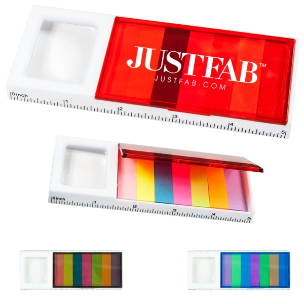 Combination Sticky Note & Ruler & Magnifier