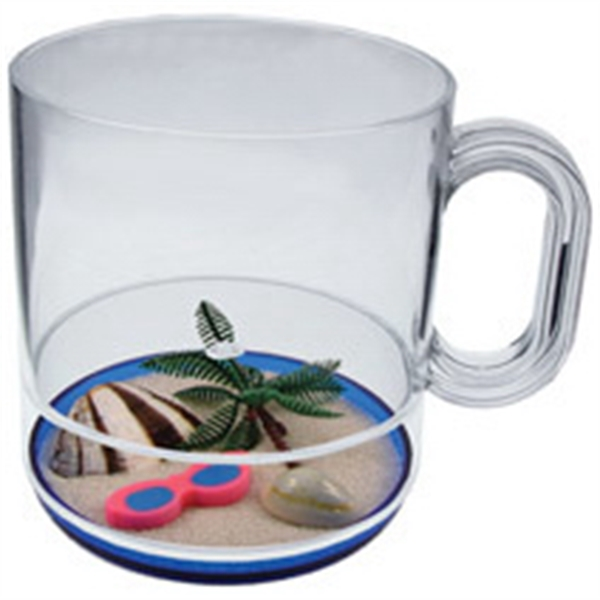 12oz Compartment Coffee Mug - Beach Themes