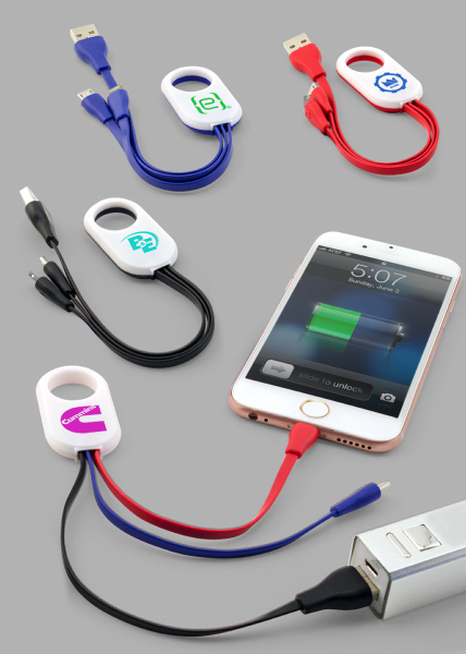 Duo Tech 2-In-1 Charging Cable