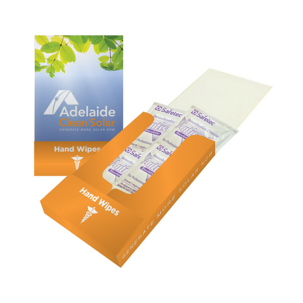 Hand Wipes Pocket Kit - Antiseptic
