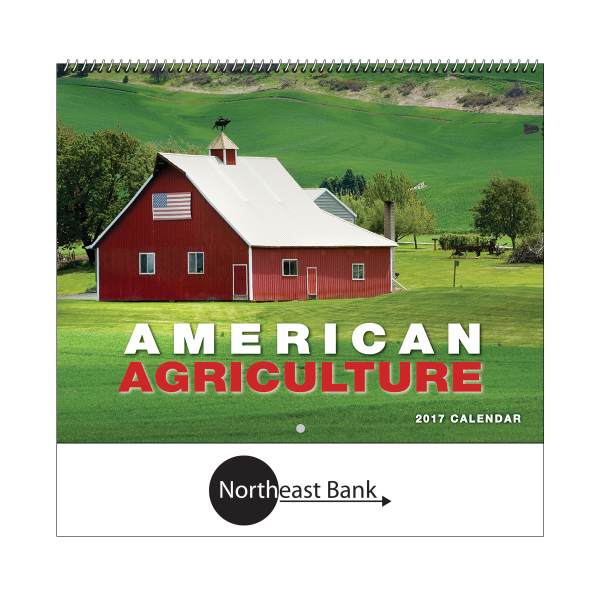2017  American Agriculture Wall Calendar - Spiral