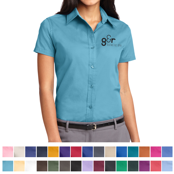 Port Authority (R) Ladies Short Sleeve Easy Care Shirt