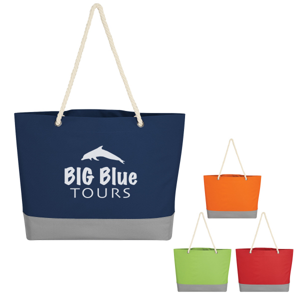 Boca Tote With Rope Handles
