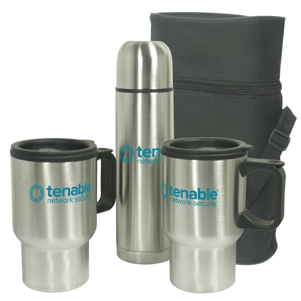 Mug - Stainless Steel Travel Mug Gift Set