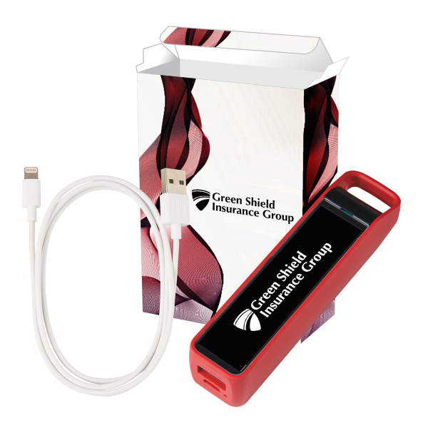 UL Listed Stay Fast Power Bank MFi Combo With Custom Box