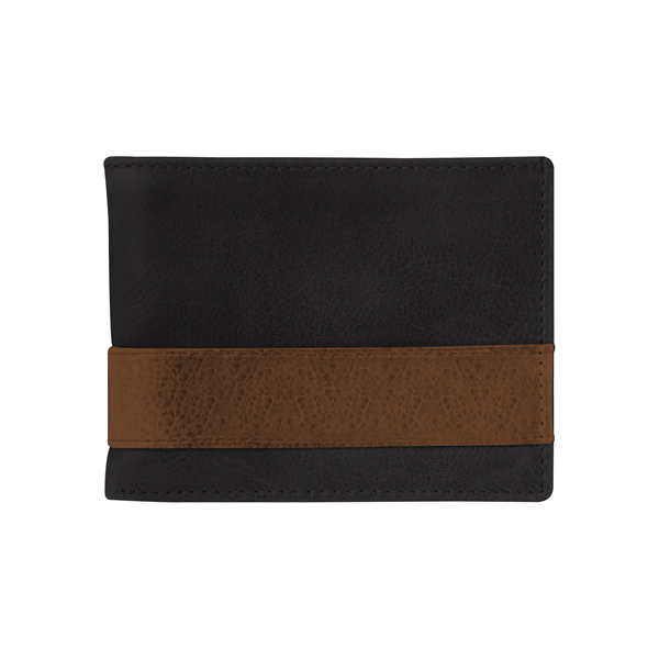 WESTBRIDGE TWO-TONE BI-FOLD WALLET