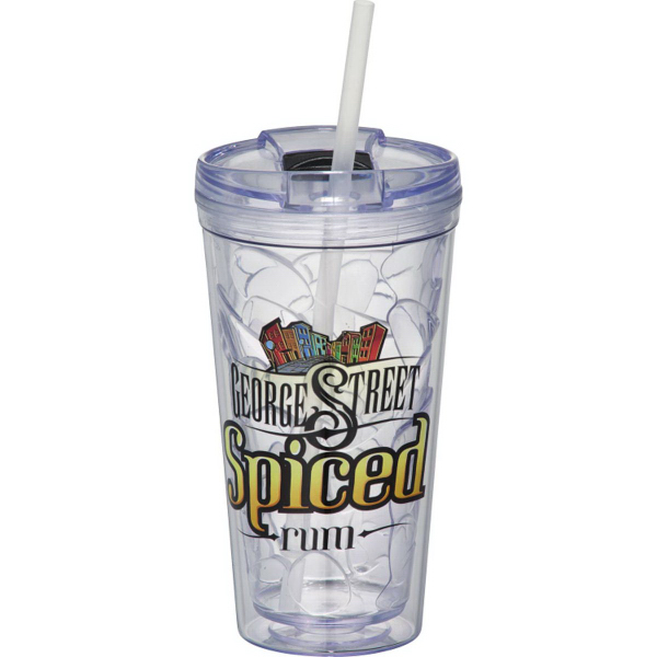 Hot & Cold Bloom Geometric Tumbler 16oz