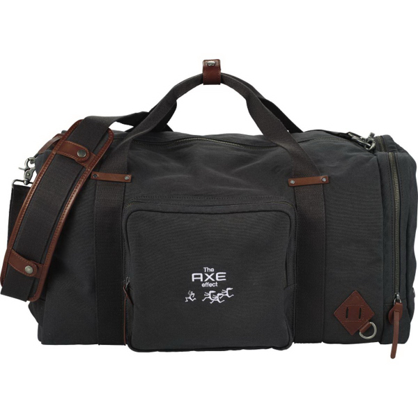 "Alternative(R) 22"" Deluxe Cotton Weekender Duffel"