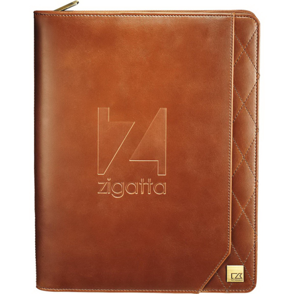 Cutter & Buck(R) Bainbridge Zippered Padfolio