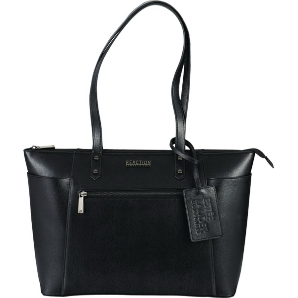 "Kenneth Cole(R) 15"" Computer Saffiano Leather Tote"