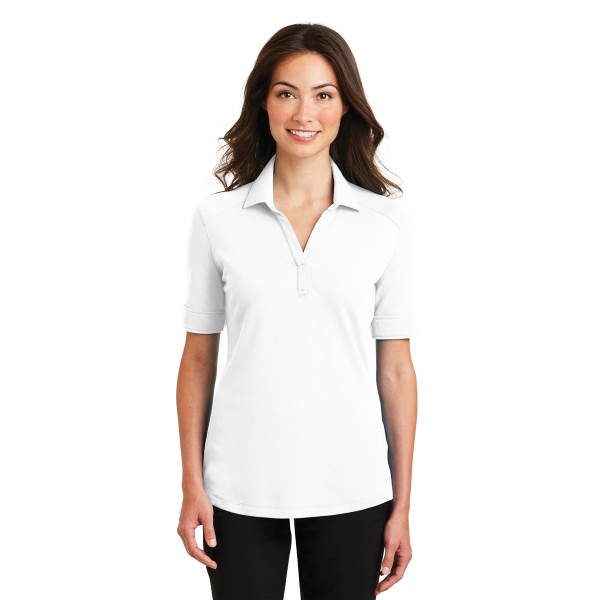 Port Authority Ladies' Silk Touch Interlock Performance Polo