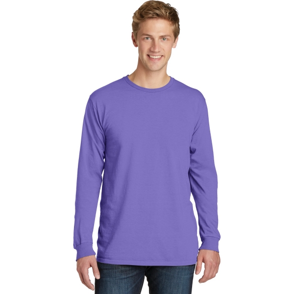 Port & Company (R) Pigment-Dyed Long Sleeve Tee