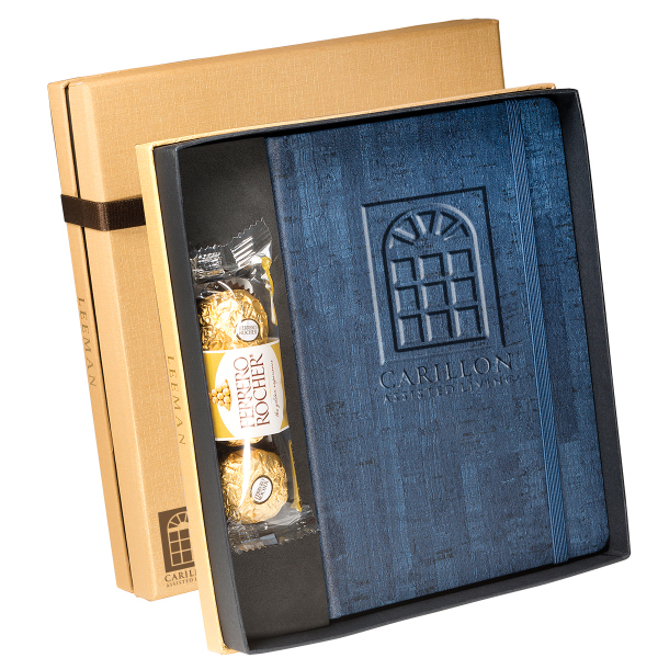 Casablanca (TM) Journal & Ferrero Rocher(R) Choc. Gift Set