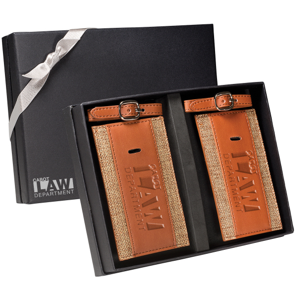 Sierra (TM) Luggage Tags Gift Set