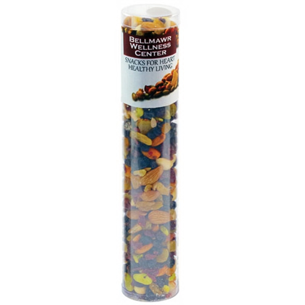 Large Healthy Snack Tube with Nuts and Dried Fruit