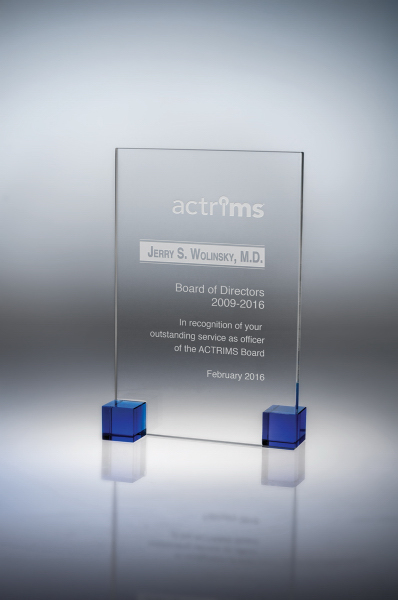 Elements Crystal Award - Medium