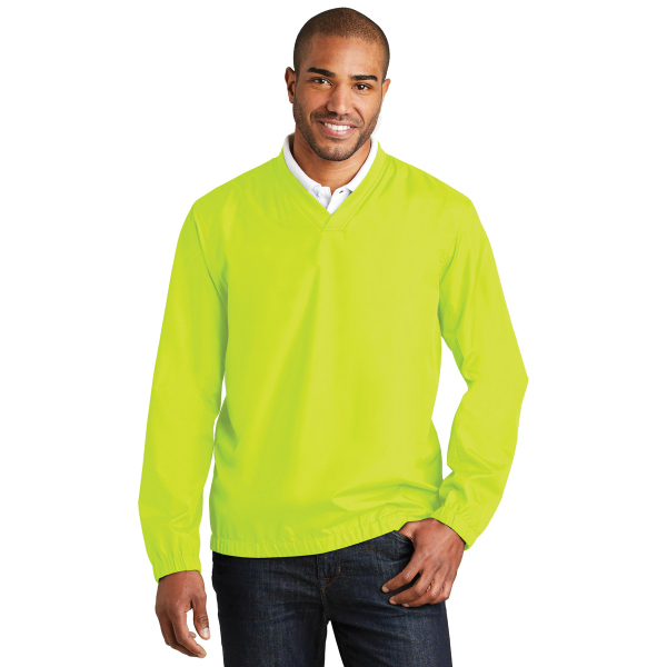 Port Authority Zephyr V-Neck Pullover.
