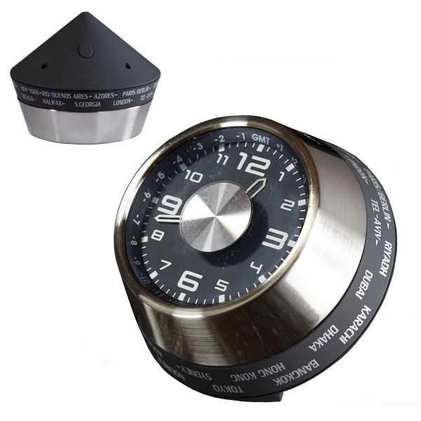 Speedometer World Time Clock