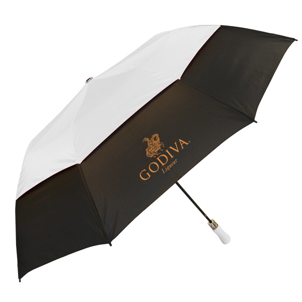 "Vented Colossal Crown Umbrella - 58"" arc, auto-open"
