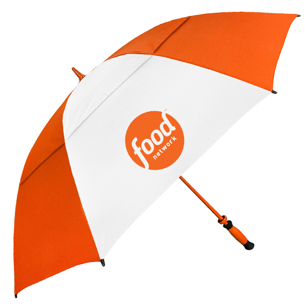 "The Vented Paramount Golf Umbrella - Auto-Open, 64"" arc"