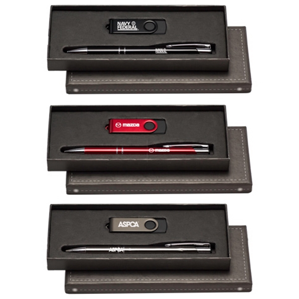 Tres-Chic Stylus & 8 GB Flash Drive Gift Set