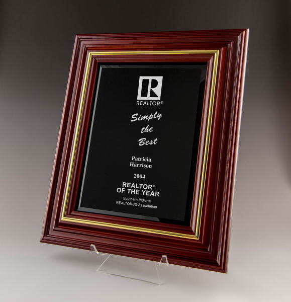 Cherry Award Plaque-Small