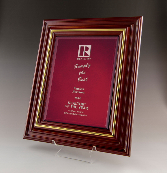 Cherry Award Plaque-Large